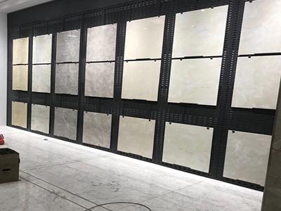 瓷砖冲孔展架